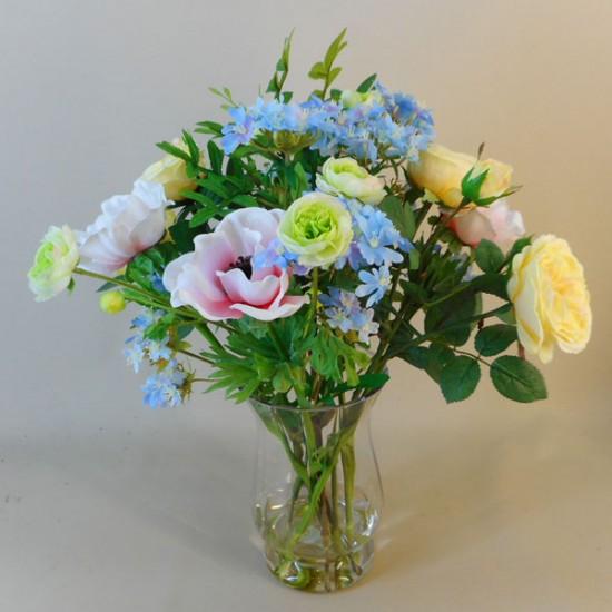 Artificial Flower Arrangements | Roses and Anemones - ROS051 3E