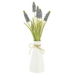 Artificial Flower Arrangements | Blue Muscari - MUS001 5C