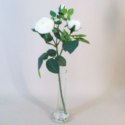 Artificial Flower Arrangements | Cream Roses - ROS046 7D