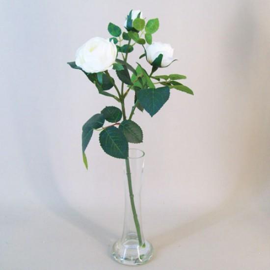Artificial Flower Arrangements | Cream Roses - ROS046 7D