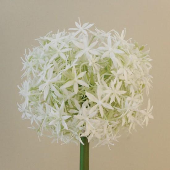 Large Artificial Allium Mount Everest Cream - A002 A1