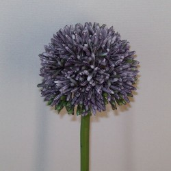 Artificial Hedgerow Allium Blue Purple - A087 A3