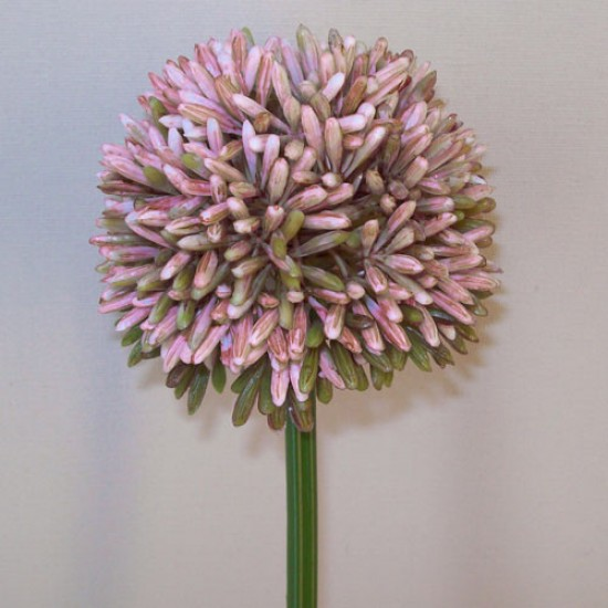 Artificial Hedgerow Allium Purple - A089 A3
