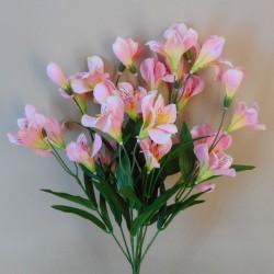 Artificial Alstroemeria Bunch Pink - A018 A2