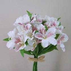 Silk Alstroemeria Bundle Cream - A078 A2