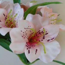Artificial Alstroemeria Stem Blush Pink 48cm  - A051 A2