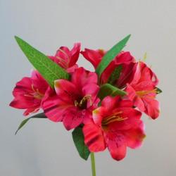 Artificial Alstroemeria Stem Hot Pink 48cm  - A052