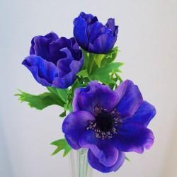 Artificial Anemones Blue - A090 A2