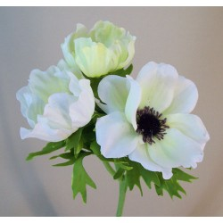Artificial Anemones White - A092