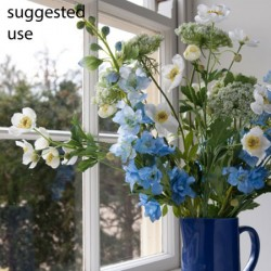 Artificial Japanese Anemones White - A097 A2