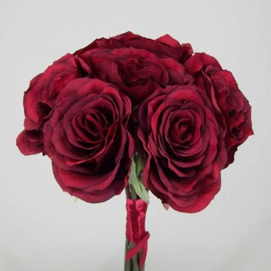 Antique Roses Bouquet Red - R027a N4