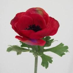 Silk Anemone Red - A009 B2