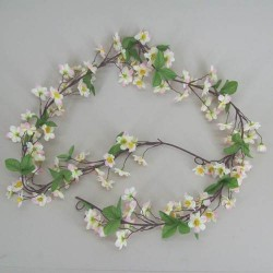 Artificial Apple Blossom Garland - C013a D3