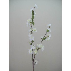 Artificial Cherry Blossom Branch Cream - B020 B3