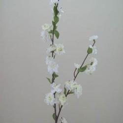 Artificial Cherry Blossom Branch Cream - B020 B3