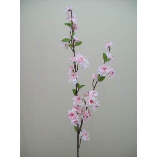 Artificial Cherry Blossom Branch Pale Pink - B018 B3
