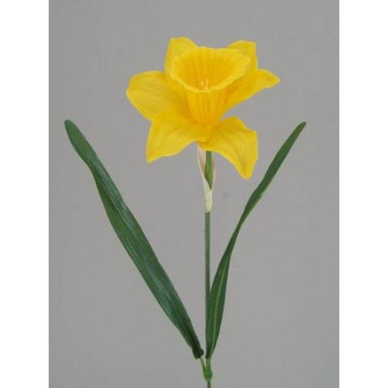 Large Yellow Silk Daffodil - D010 F1