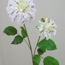 Artificial Luxury Dahlia Cream Pink - D014 C4