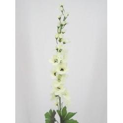 Silk Delphinium or Larkspur Cream - D025 C2