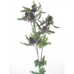 Artificial Eryngium Thistles Sea Holly Lavender Blue - E002 E4
