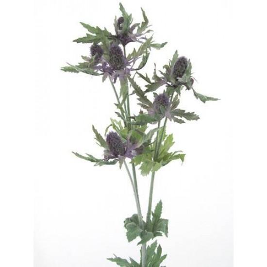 Artificial Eryngium Thistles Sea Holly Lavender Blue - E002 E4