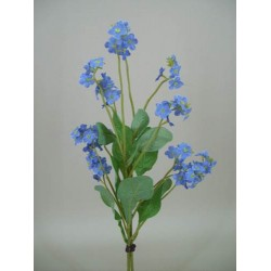 Artificial Forget Me Nots Posy Blue - F038