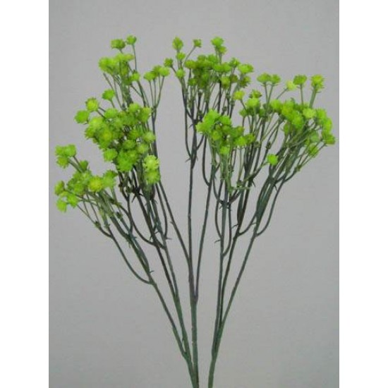 Artificial Gypsophila Lime Green (3 pack) - G004 KK2