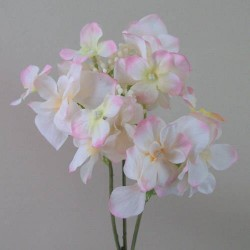 Artificial Hydrangea Blush Pink - H053 F3