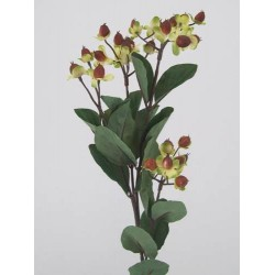 Artificial Hypericum Berries Brown - H007  F3