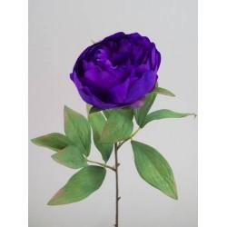 Artificial Peony Flowers Purple - P060 K3