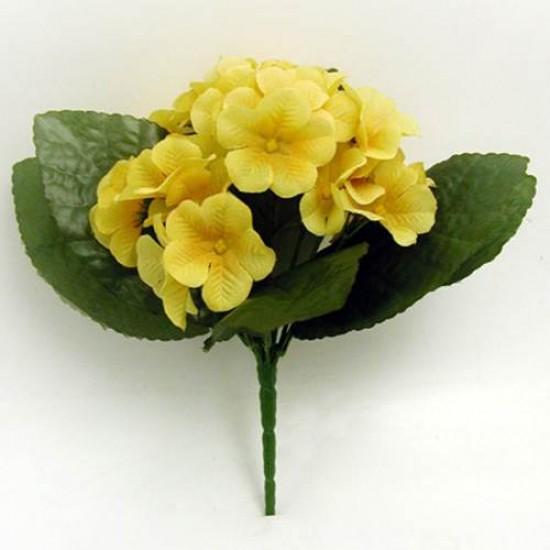 Artificial Primrose Plants Yellow - P032 L3