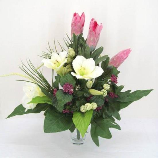 Protea Silk Flower Bouquet - P016 K4