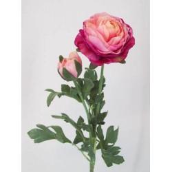Artificial Ranunculus Pink Peach - R042 O3