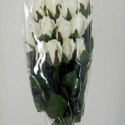 Silk Roses Bouquet Ivory - R010c BX10