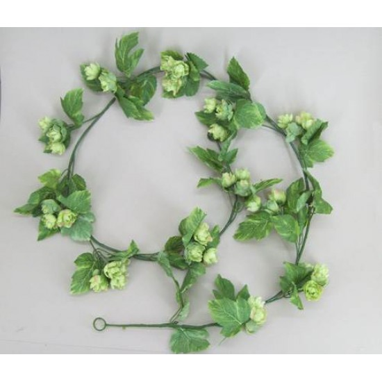 Artificial Silk Hops Garlands - H001a G1