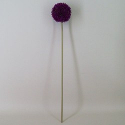 Artificial Allium Purple Small - A077 A3