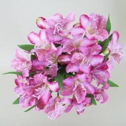 Silk Alstroemeria Bundle Pink - A058 A2