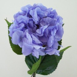 Artificial Giant Hydrangeas Hyacinth Blue - H066 F4