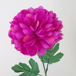 Pompom Chrysanthemum Carnival Hot Pink - C136 D3