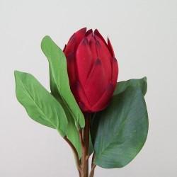 Artificial King Protea Red - P119 L2