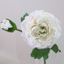 Artificial Ranunculus Vintage Cream - R115 O3