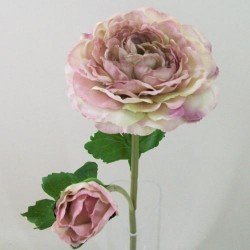 Artificial Ranunculus Vintage Pink - R134 O3