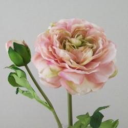 Artificial Ranunculus Vintage Peach - R132