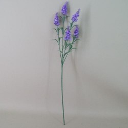 Artificial Silk Lavender Stem Lilac - L005 H3