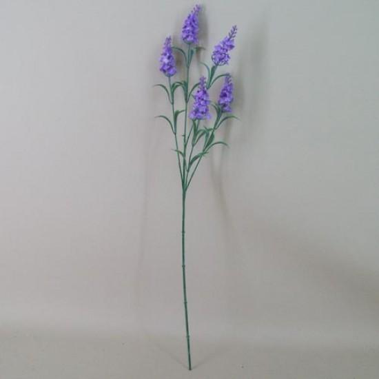 Artificial Silk Lavender Stem Lilac - L005 H4