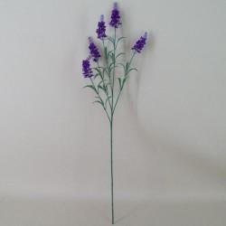 Artificial Silk Lavender Stem Purple - L004 H2