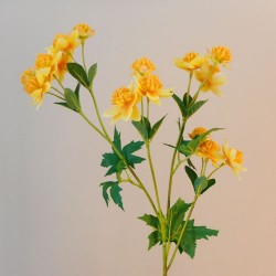 Carnival Astrantia Yellow Artificial Flowers - A044 A4