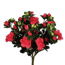 Artificial Azalea Plants Hot Pink - A153 GG4