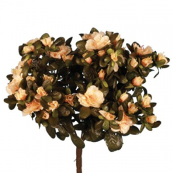 Artificial Azalea Plants Peach - A150 HH1