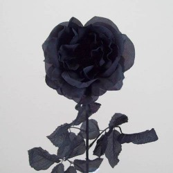 Black Silk Artificial Roses - R013 P2